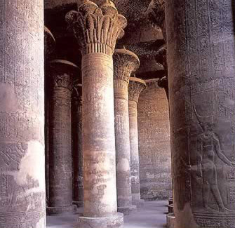 Hypostyle Hall in the Temple of Khnum at Esna