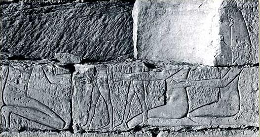 The circumcision scene in the Temple of Khonsupakherod