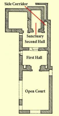 Ground Plan of the Temple of the Oracle Proper