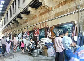 One of the arteries of the old Islamic city center of Cairo is the Muizz Li-Din Allah Street. The broad alley goes from Bab Al-Fotouh theGate of the ... : tent makers - memphite.com