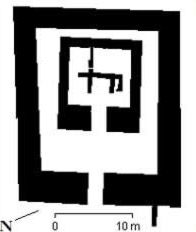 Plan of the Archaic Temple