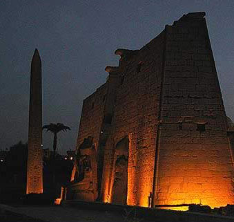We visited the Luxor temple during the evening and it was grand
