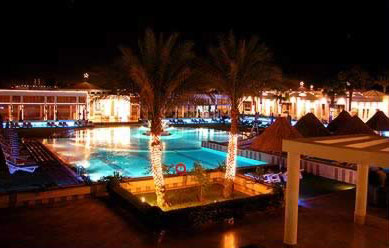 The beautiful pool of the Movenpick at Sharm el-Sheikh
