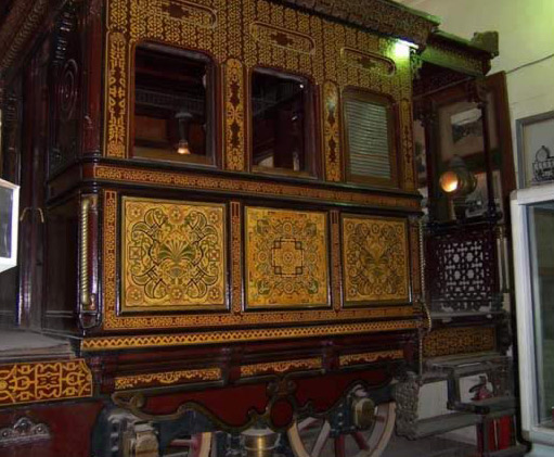 The Khedive Train, Exterior
