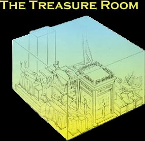 Diagram of the Treasure Room