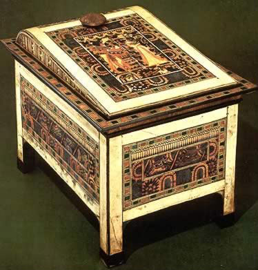 Elaborately Decorated Chest