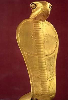 Gilded wood figure of Netjer-ankh