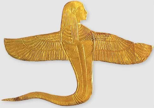 Human-headed Winged Cobra
