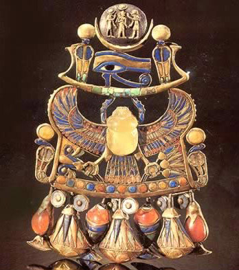 Pectoral with Solar and Lunar Emblems