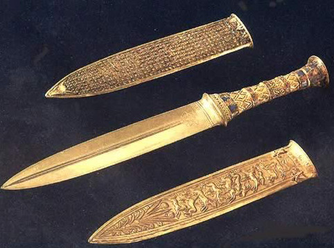 Gold Dagger and Sheath