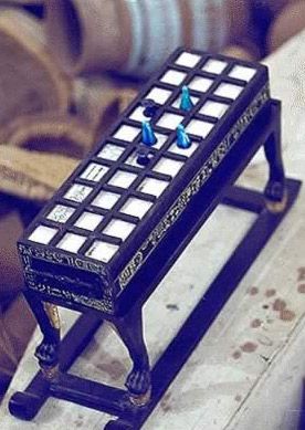 Senet Game Board