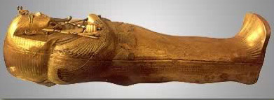 Tutankhamun's Gold Inner Coffin