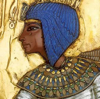 Kiya, a lesser wife of Akhenaten who was probably Tutankhamun's mother.