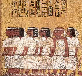 Artwork found in the Tutankhamun Tomb 1