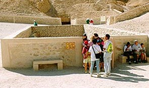 Entrance to Tutankhamun's Tomb