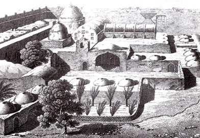 The Moanstery of Anba Bishoi at the time of Napoleon's conquest of Egypt
