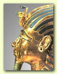 Nekhbet and Wadjet on  Tutankhamen's Crown