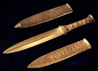 Daggers from the tomb of Tutankhaman