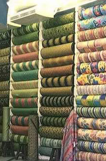 Cloth at Wekalat Al-Balah market in Cairo, Egypt