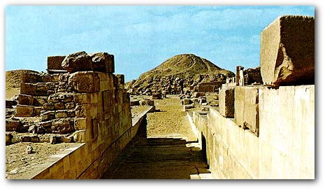 The Causeway of Unas in Egypt