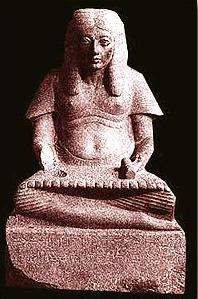Horemheb, the Famous General and King as a Scribe