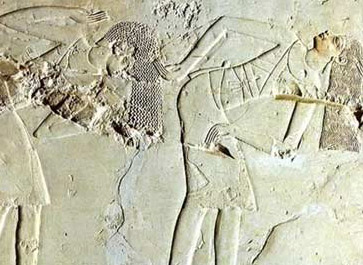 Dancers from the PrivateTomb of Kheruef