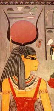 Of course, Isis was always a part of Egyptian myths in her role as the wife of Osiris and the mother of Horus