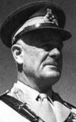 British Field Marshal ARchibald Percival Wavell