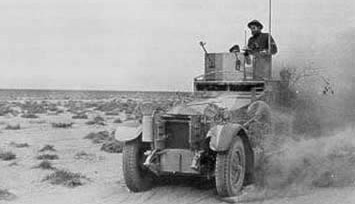 A Rolls Royce Armoured Car of the 11th Hussars