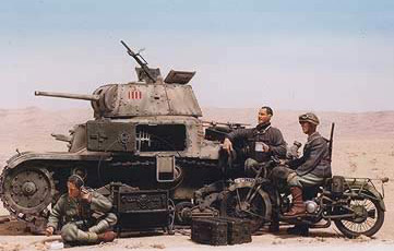 The Italian M13 Tank