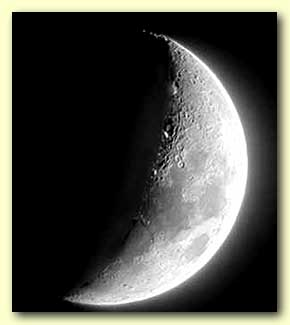 Yah was sometimes depicted as a new moon, who's angles seemed to appear as the horns of a bull.