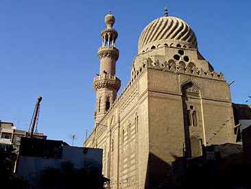 Facade of the Mosque of Ilgay al-Yusufi