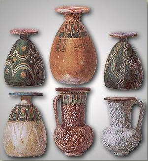 Various Vessels from the Tomb