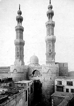 A historic view of Bab Zuwayla