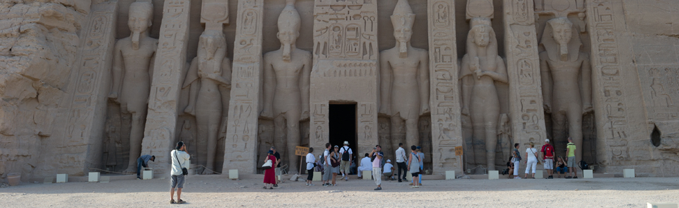 See For Yourself While Exploring Abu Simbel