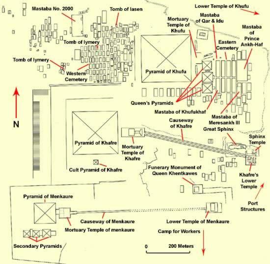 Clickable Image Map of Giza